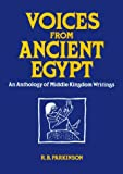 img - for Voices from Ancient Egypt: An Anthology of Middle Kingdom Writings (Oklahoma Series in Classical Culture) book / textbook / text book