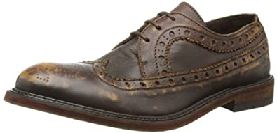 Fly London Mens Walt Brogue P143036002 Camel 7 UK, 41 EU