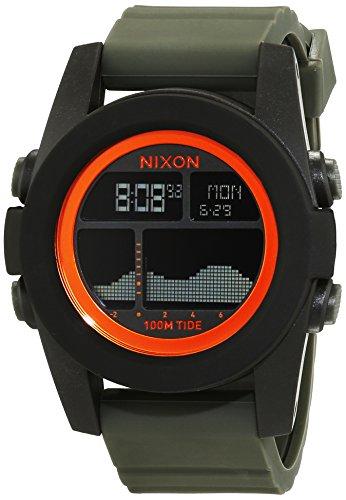 nixon-a2822050-00-montre-homme-quartz-digitale-bracelet-silicone-vert