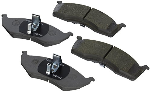 ACDelco 14D730CH Advantage Ceramic Front Disc Brake Pad Set