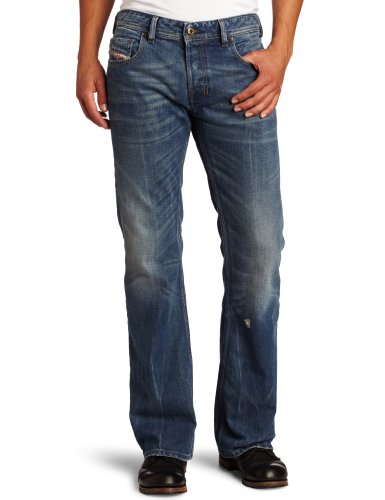 Diesel - Mens Zathan 802E Denim Jeans, Size: 28W x 30L, Color: Denim