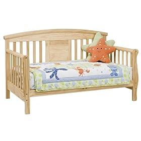 DaVinci Elizabeth II Convertible Toddler Bed in Natural