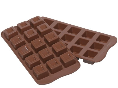 niceEshop(TM) Silicone Chocolate Square Mold Mould-Chocolate