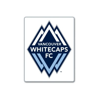 VANCOUVER WHITECAPS FC MLS OFFICIAL LOGO BRASS LAPEL PIN