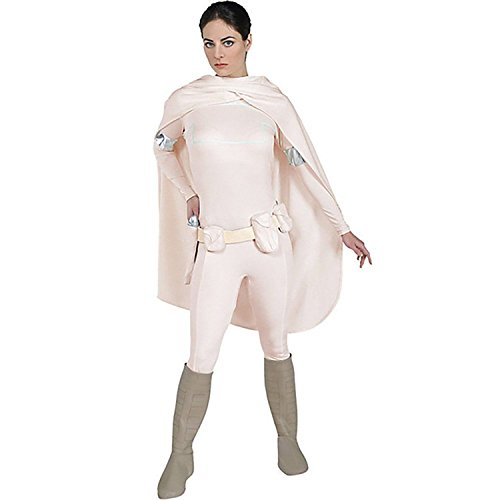 [Kmoac Star Wars DELUXE Padme Amidala Womens Girls Adult Cosplay Costume-Large] (Padme Amidala Halloween Costumes)