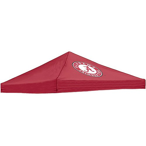 10' X 10' Canopy Top Polyester Logo Chair Durable Water-Resistant Red front-1077624