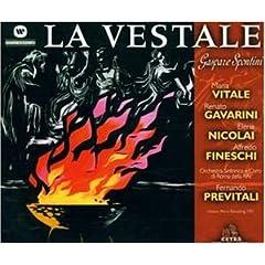 Spontini: La Vestale (Gesamtaufnahme) (ital.) (Aufnahme 1951)