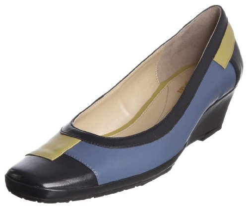 Van Dal Women's Haiti Navy/Kiwi/Blue Closed Toe 1283470 3 UK