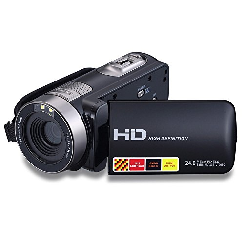 "Video Camera,Stoga Puto STD016 Digital Video Camcorder with 2.7"" LCD Screen 24MP Digital Camera"