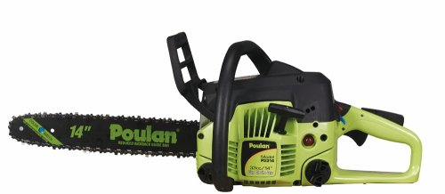 Find Bargain Poulan P3314 14-Inch 33cc 2-Cycle Gas-Powered Chain Saw