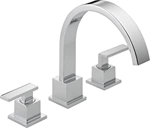 Delta T2753 Vero Roman Tub Trim, Chrome
