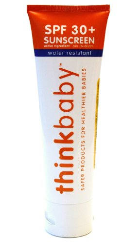 thinkbaby sunscreen SPF30+ benefiting LIVESTRONG, 3 ounces