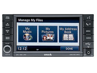 2009-2010 Jeep Liberty AM/FM/Satellite CD/DVD/MP3