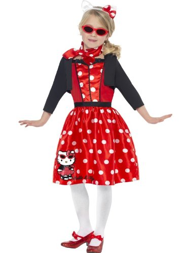 Hello Kitty Retro 50s Cherry Costume