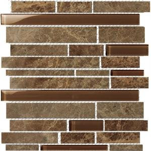 subway marble glass blend mosaic tile backsplash mbg802 bathroom