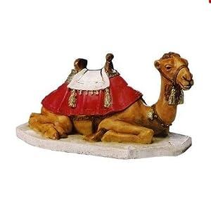 Statua in resina cammello per presepe da cm 65 - Statue da giardino in resina ...