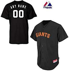 San Francisco Giants Full-Button CUSTOM or BLANK BACK Major League Baseball Cool-Base... by Majestic Authentic Sports Shop