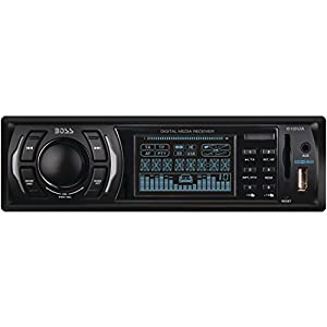 BOSS Audio 612UA In-Dash Single-Din USB/SD/MP3 Player Receiver