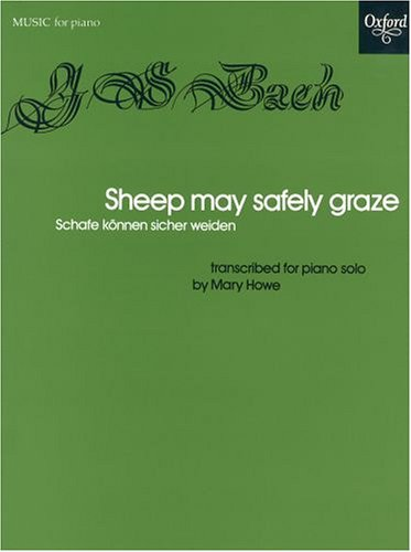 Sheep May Safely Graze for Piano Solo (Oxford University Press) PDF
