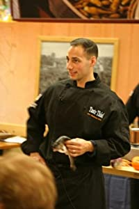 Chef Revival J017BK Cotton Cuisinier Long Sleeve Chef Jacket with Cloth Covered Button, 2X-Large, Black