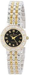 Peugeot Women's 784TT Two-Tone 1/10 carat Genuine Diamond Bracelet Watch