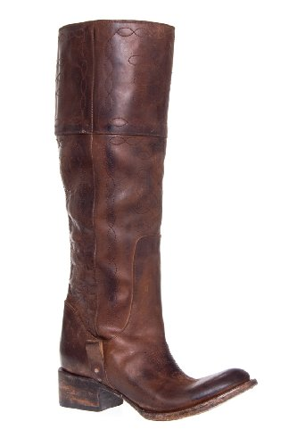 Freebird by Steven Wrangler Tall Distressed Low Heel Saddle Boot
