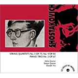 String Quartets 3 & 4 / Piano Trio 2par Shostakovich