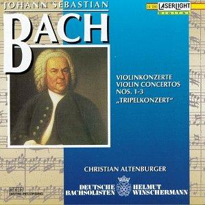 Bach: Violin Concertos Nos. 1-3: Triplekonzert