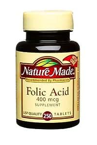 Nature Made Folic Acid  Mcg Tablets Reviews