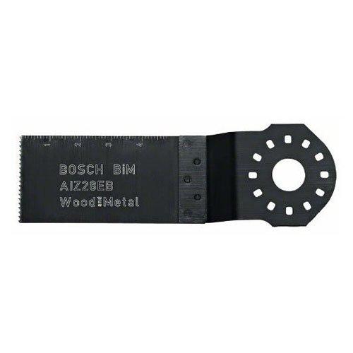 Bosch 2608661902 - Lama per tagli dal pieno (BIM) AIZ 28 EB, legno e metallo