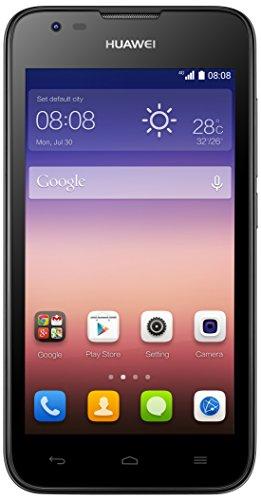 Huawei Ascend Y550 Smartphone, 4 GB, Nero