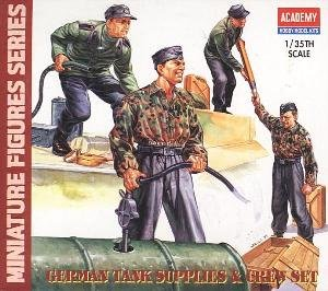 German Tank Supplies and Crew Set by Academy - Buy German Tank Supplies and Crew Set by Academy - Purchase German Tank Supplies and Crew Set by Academy (Academy Models, Toys & Games,Categories,Construction Blocks & Models,Construction & Models,Vehicles,Military)