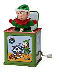 Pop! Goes the Elf 7th and Final in Series 2009 Hallmark Ornament