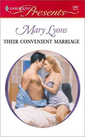Image for Their Convenient Marriage (Harlequin Presents No. 2167)
