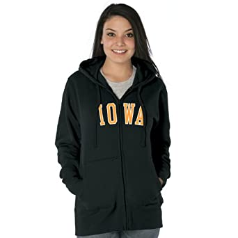 NCAA Iowa Hawkeyes Ladies Franchise Redux Nuvola Full-Zip Sweatshirt by Ouray Sportswear