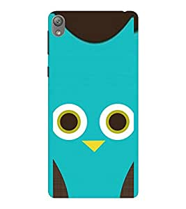 EPICCASE blue cutie Mobile Back Case Cover For Sony E5 (Designer Case)
