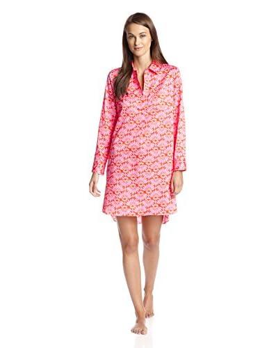 Natori Women's Printed Cotton Sateen Sleepshirt