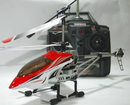 The Newest Viefly V388 3 Channel Medium Size Alloy Rc Helicopter with Gyro