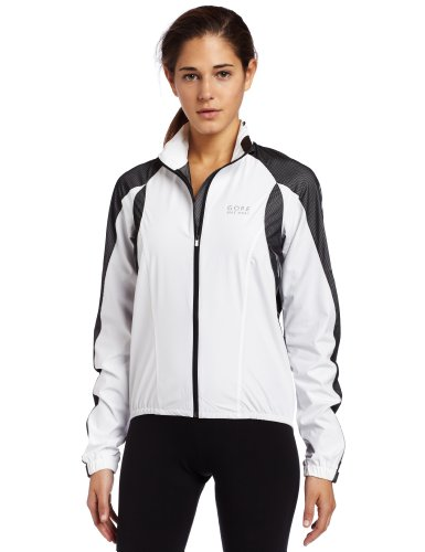 Gore Bike Wear Women's Xenon AS Lady Jacket (White/Black, Medium)