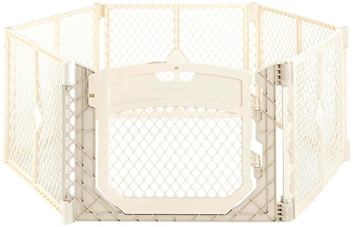 North States Industries Superyard Ultimate Playard, Ivory