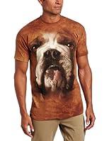 The Mountain Men's Bulldog Face T-shirt