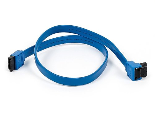 monoprice-18-inch-sata-iii-60-gbps-cable-with-locking-latch-and-90-degree-plug-blue