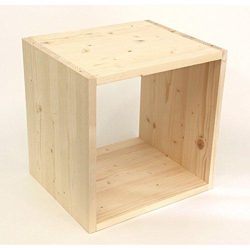 Regalwrfel-Flexicube-Grundmodul-Fichte-natur-Regalwrflel-aus-Massivholz-erweiterbar-zum-Regal-Raumteiler-Bcherregal