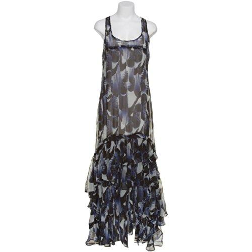 Bb Dakota Ruffle Tier Floor Length Racerback Chiffon Dress,Blu,S