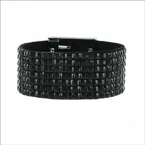 Fashion Trendy Rhinestone Accent Bracelet #039385