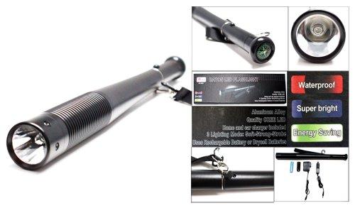 Rechargeable Power Style Led Focalize Cree Led Baton Flashlight Af6020