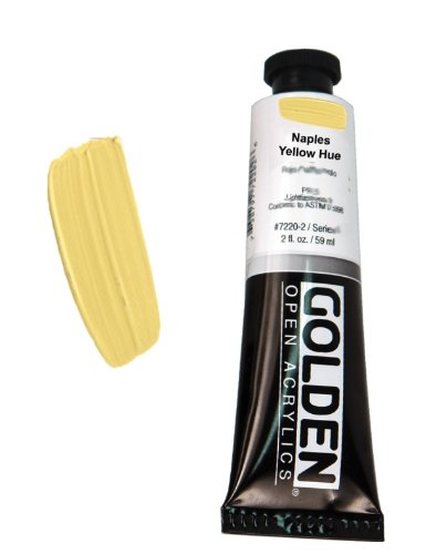 Or open acrylique 59 ml couleur jaune