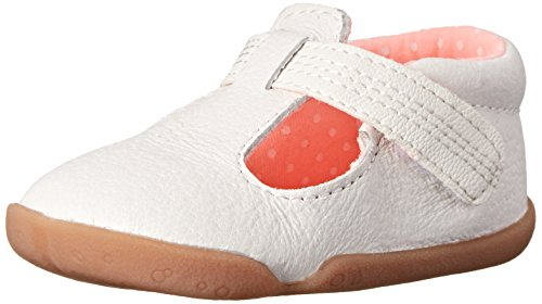 Carter's Every Step Becca Stage 2 Stand Walking Shoe (Infant/Toddler), White, 4.5 M US Toddler (Walking Shoes For Babies compare prices)