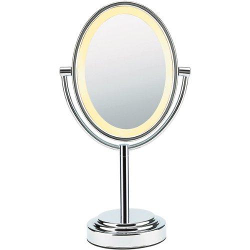 lighted magnifying makeup mirror 7x ctrl lighted makeup mirror. Black Bedroom Furniture Sets. Home Design Ideas