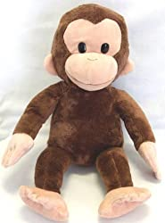15 Inch Plush Curious George Doll Toy